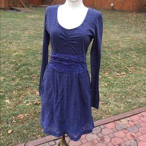 ATHLETA Long Sleeve Dress sz S